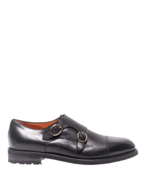 SANTONI: Mocassini e slippers - Mocassini in pelle
