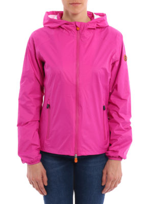 Save the Duck: casual jackets online - Waterproof nylon hooded jacket