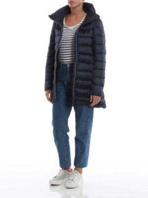 Save The Duck: cappotti imbottiti online - Piumino trapuntato blu con collo ad anello
