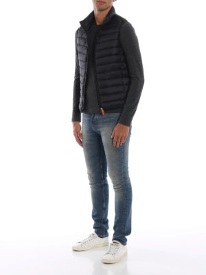 Save The Duck: giacche imbottite online - Gilet imbottito in nylon Giga nero