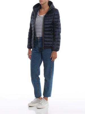 Save The Duck: giacche imbottite online - Piumino leggero blu con cappuccio