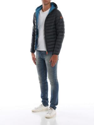 Save The Duck: giacche imbottite online - Piumino leggero con cappuccio verdone
