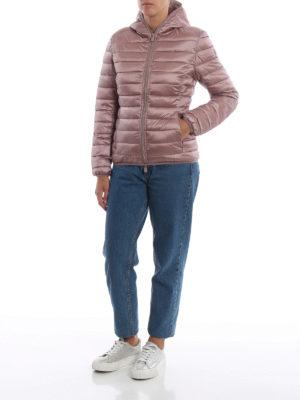 Save The Duck: giacche imbottite online - Piumino leggero rosa con cappuccio