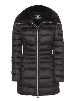 Save the Duck: padded coats - Faux fur inner collar puffer coat