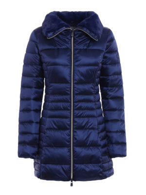 Save the Duck: padded coats - Iris shiny ultralight padded coat