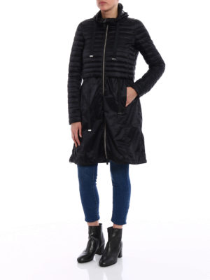 Save the Duck: padded coats online - Black puffer jacket light raincoat