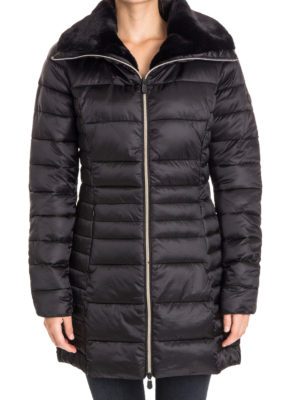 Save the Duck: padded coats online - Faux fur inner collar puffer coat