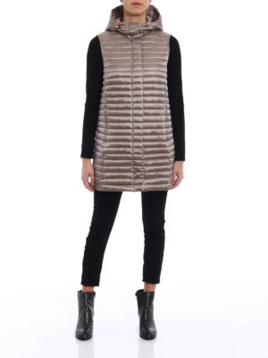 Save the Duck: padded coats online - Padded quilted sleeveless coat