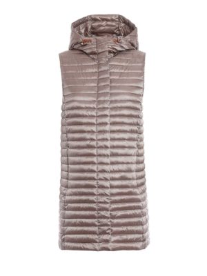Save the Duck: padded coats - Padded quilted sleeveless coat