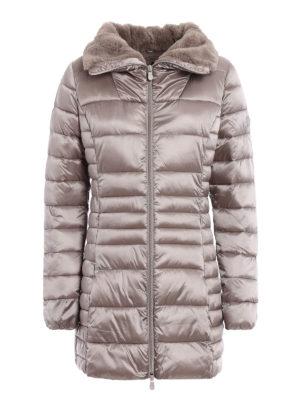 Save the Duck: padded coats - Shiny ultralight warm padded coat