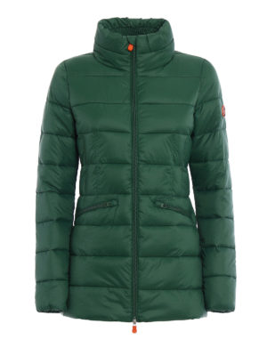 Save the Duck: padded coats - Short puffer fitted coat