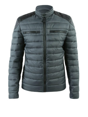Save the Duck: padded jackets - Biker detailed padded jacket