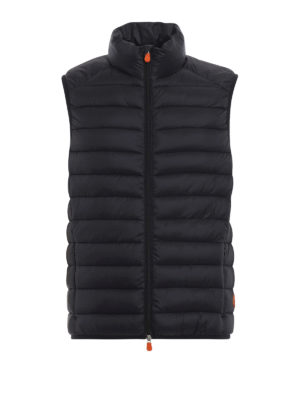 Save The Duck: giacche imbottite - Gilet imbottito in nylon Giga nero