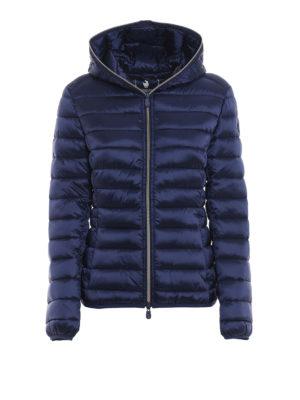 Save The Duck: giacche imbottite - Piumino leggero blu con cappuccio