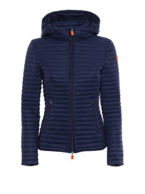 Save the Duck: padded jackets - Disney blue puffer jacket