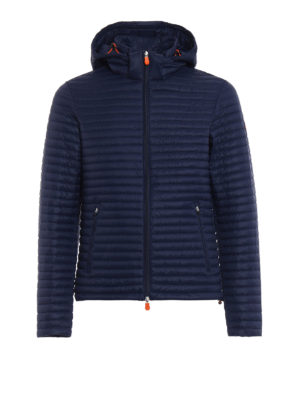 Save the Duck: padded jackets - Disney Capsule navy puffer jacket