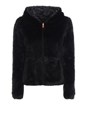Save The Duck: giacche imbottite - Piumino reversibile in eco pelliccia e nylon