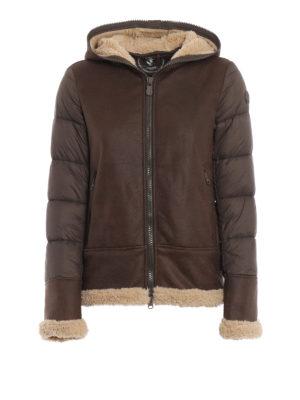 Save The Duck: giacche imbottite - Piumino con cappuccio in eco-montone