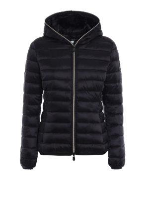 Save the Duck: padded jackets - Iris black ultralight jacket