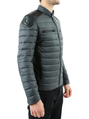 Save the Duck: padded jackets online - Biker detailed padded jacket