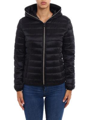 Save the Duck: padded jackets online - Iris black ultralight jacket