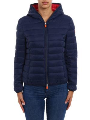 Save the Duck: padded jackets online - Ultralight dark blue jacket