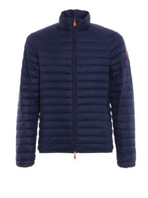 Save the Duck: padded jackets - Water resistant blue padded jacket