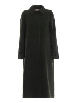SCHNEIDERS: cappotti lunghi - Cappotto Adamaris in loden verdone