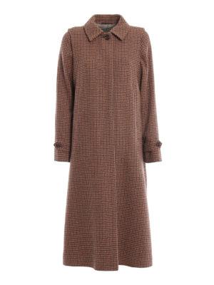 SCHNEIDERS: cappotti lunghi - Cappotto Adamaris ad A in tweed pied de poule