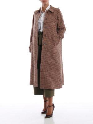 SCHNEIDERS: cappotti lunghi online - Cappotto Adamaris ad A in tweed pied de poule