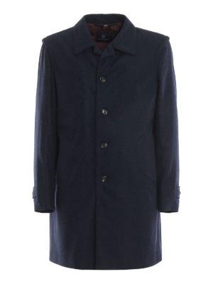 SCHNEIDERS: cappotti corti - Cappotto loden classico blu grigio