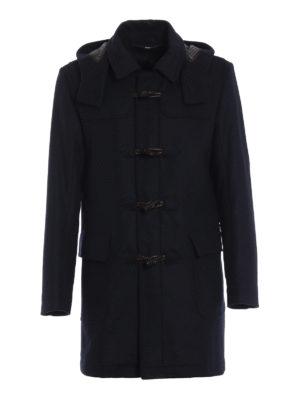 SCHNEIDERS  cappotti corti - Montgomery Donato in misto lana e cashmere c644a0d5338