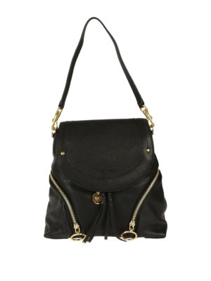 See by Chloé: backpacks - Olga black leather backpack