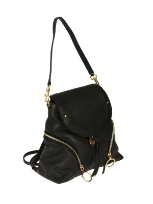 See by Chloé: backpacks online - Olga black leather backpack