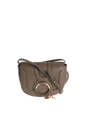 See by Chloé: cross body bags - Mini Hana brown leather crossbody