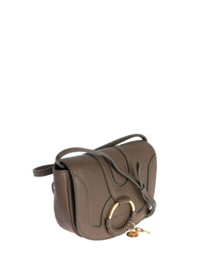 See by Chloé: cross body bags online - Mini Hana brown leather crossbody