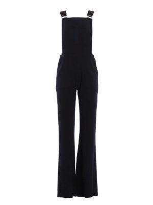 See by Chloé: jumpsuits - Crepe jumpsuit
