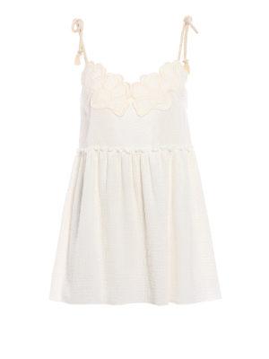 See by Chloé: short dresses - Cotton mini dress