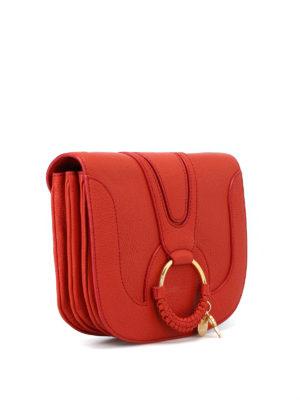 SEE BY CHLOE': borse a spalla online - Piccola borsa rossa Hana a tracolla