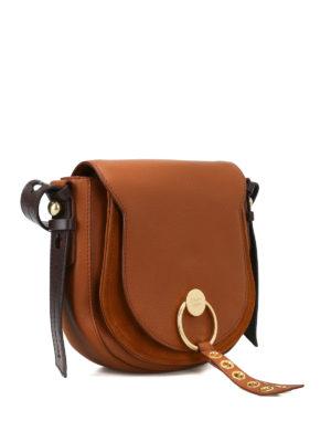 SEE BY CHLOE': borse a spalla online - Borsa a tracolla Lumir color caramello