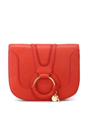 SEE BY CHLOE': borse a spalla - Piccola borsa rossa Hana a tracolla