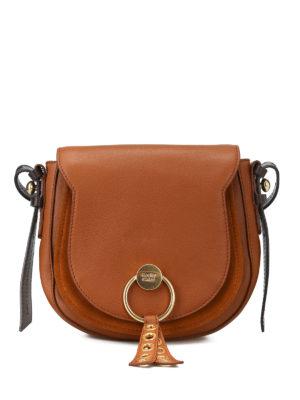 SEE BY CHLOE': borse a spalla - Borsa a tracolla Lumir color caramello