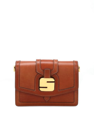 Serapian: cross body bags - 1972 Mini leather bag
