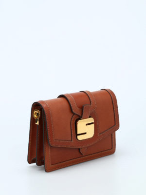 Serapian: cross body bags online - 1972 Mini leather bag