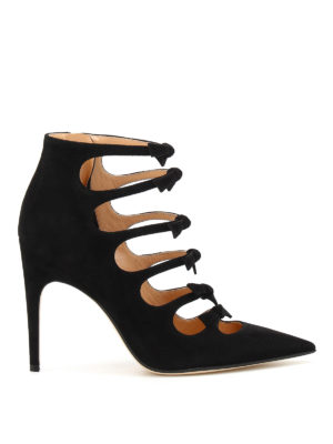 Sergio Rossi: ankle boots - Isobel suede booties