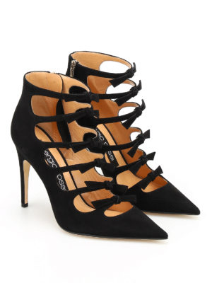 Sergio Rossi: ankle boots online - Isobel suede booties