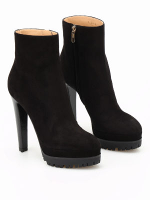 Sergio Rossi: ankle boots online - Shana suede booties