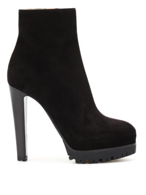 Sergio Rossi: ankle boots - Shana suede booties