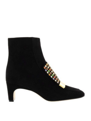 Sergio Rossi: ankle boots - Sr1 multicolour studded ankle boots