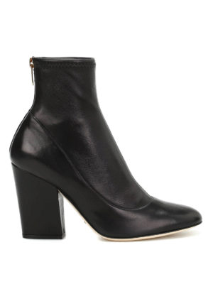 Sergio Rossi: ankle boots - Stretch leg nappa booties
